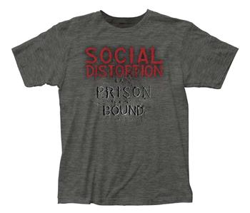 Buy Social Distortion Prison Bound T-Shirt by Social Distortion