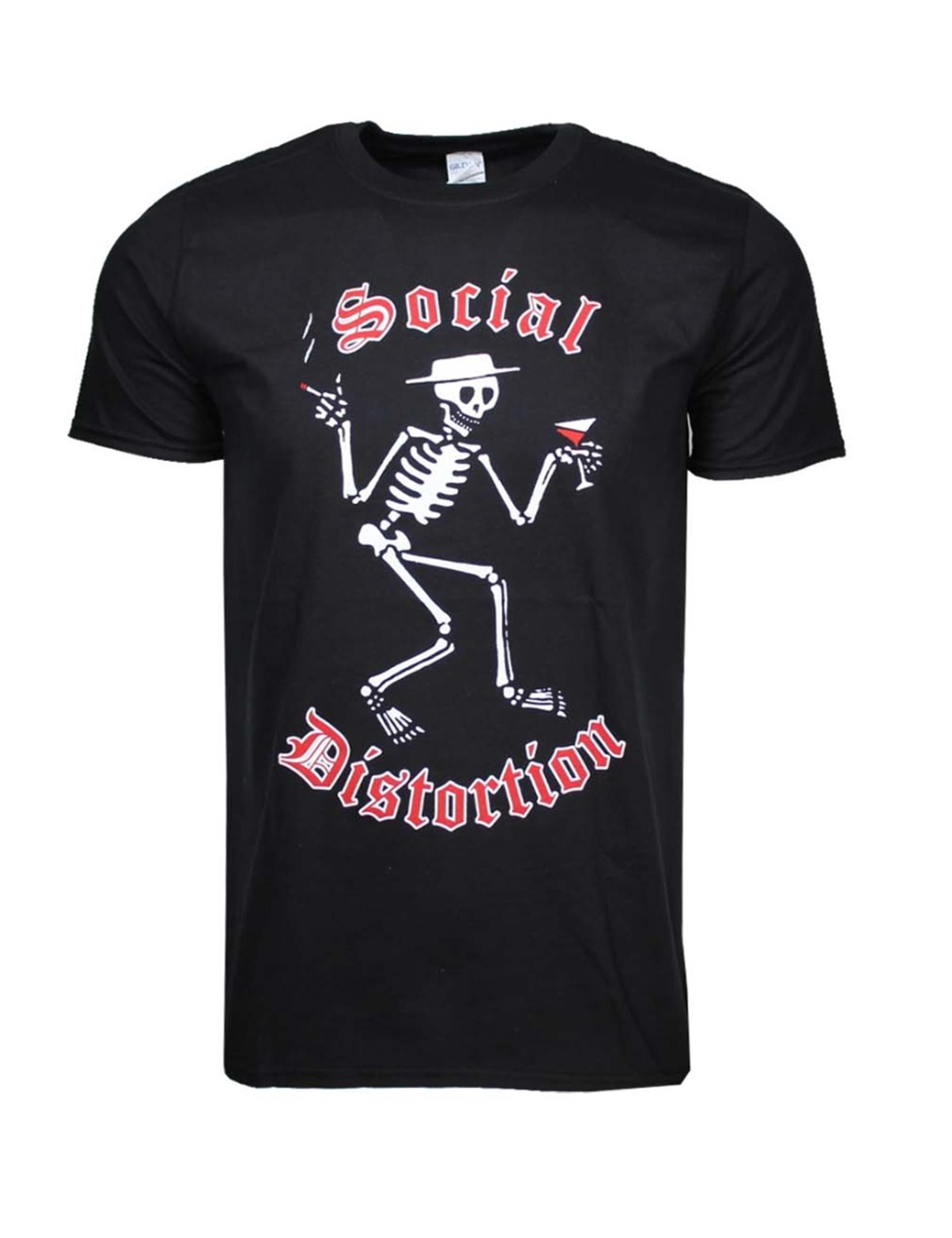 Social Distortion Skelly Logo T-Shirt