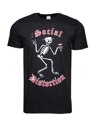 Social Distortion Social Distortion Skelly Logo T-Shirt
