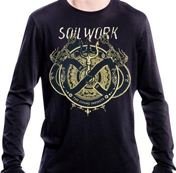 Buy The Living Infinite Longsleeve Shirt by Soilwork
