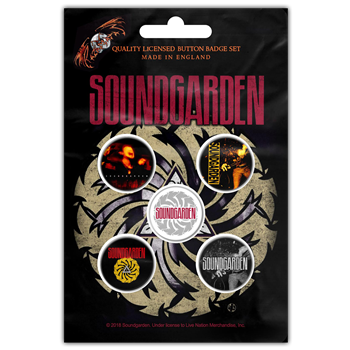 Soundgarden Badmotorfinger Button Pin Set