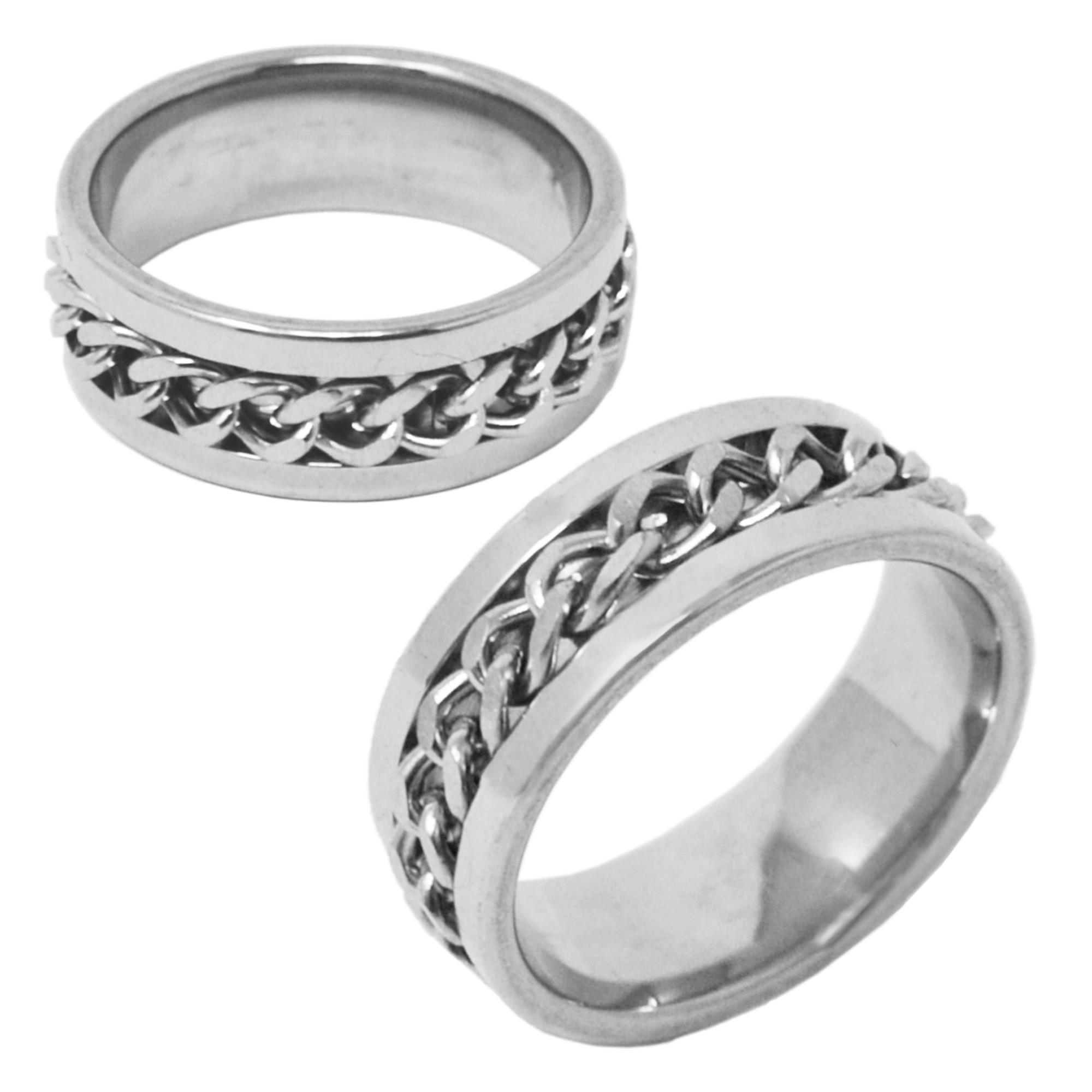 STAINLESS STEEL CHAIN LINK RING
