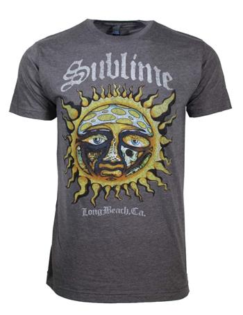 Buy Sublime Logo Stamp Sun Soft T-Shirt by Sublime