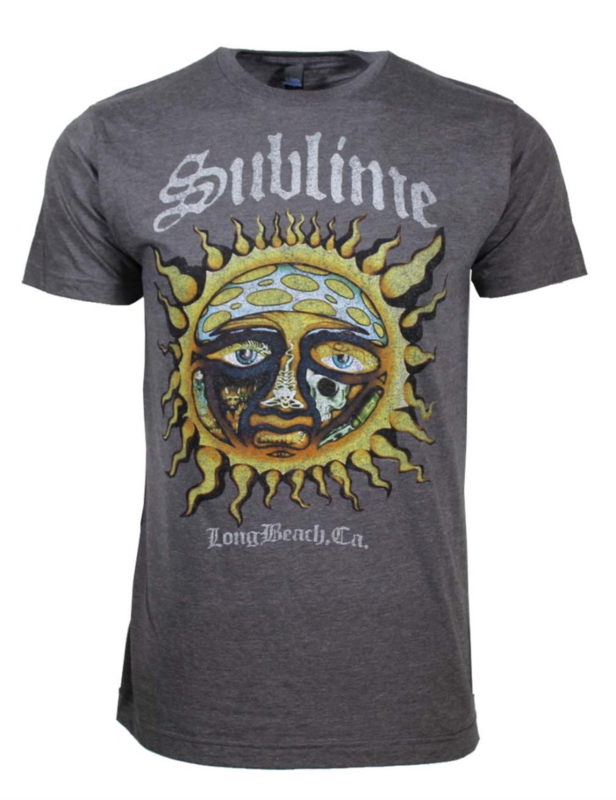 Sublime Logo Sun Stamp Soft T-Shirt