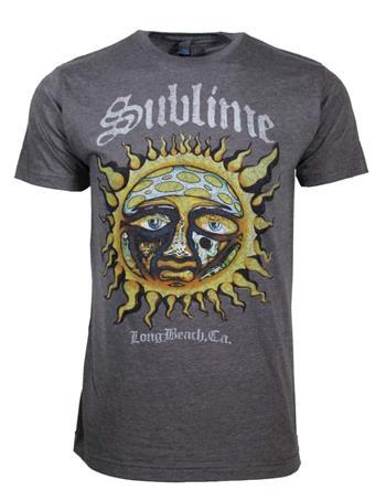 Sublime Sublime Logo Sun Stamp Soft T-Shirt