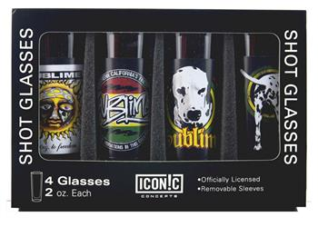 Buy Sublime Shot Glasses Set (4 Pack) by Sublime