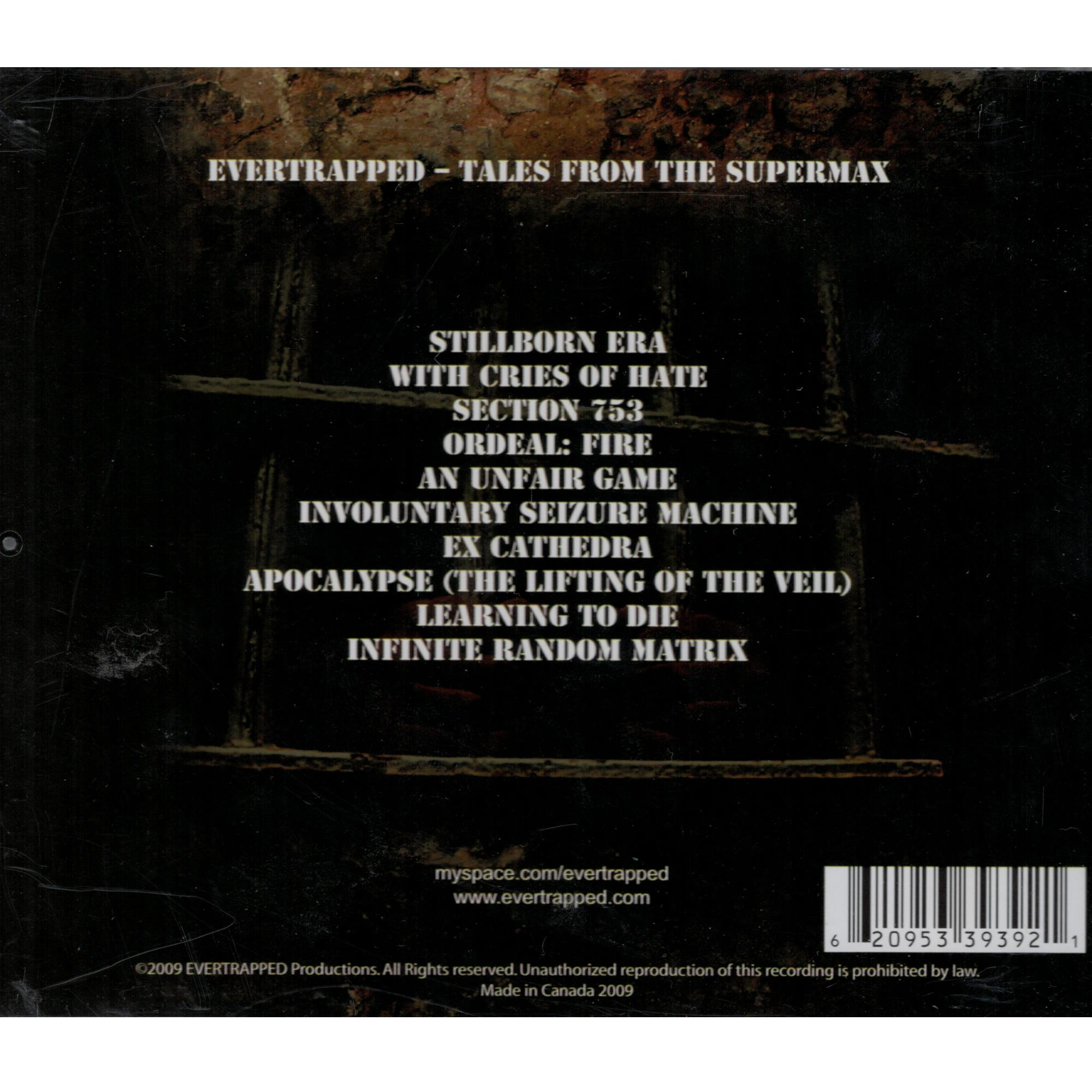 Tales From The Supermax (CD)