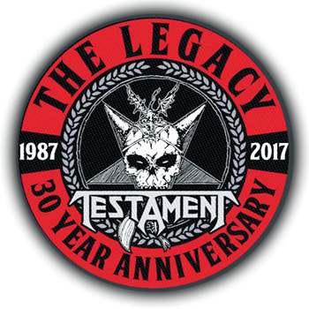 Testament The Legacy 30 Years Patch