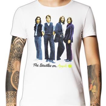 Buy The Beatles On Apple T-Shirt by Beatles
