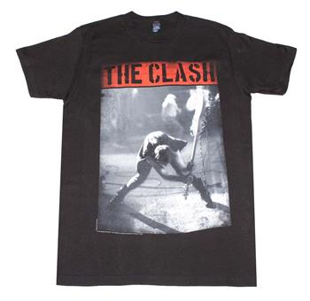 Buy The Clash Smashing Guitar T-Shirt by The Clash