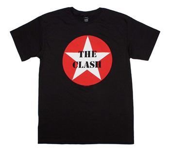 Buy The Clash Star Logo T-Shirt by The Clash