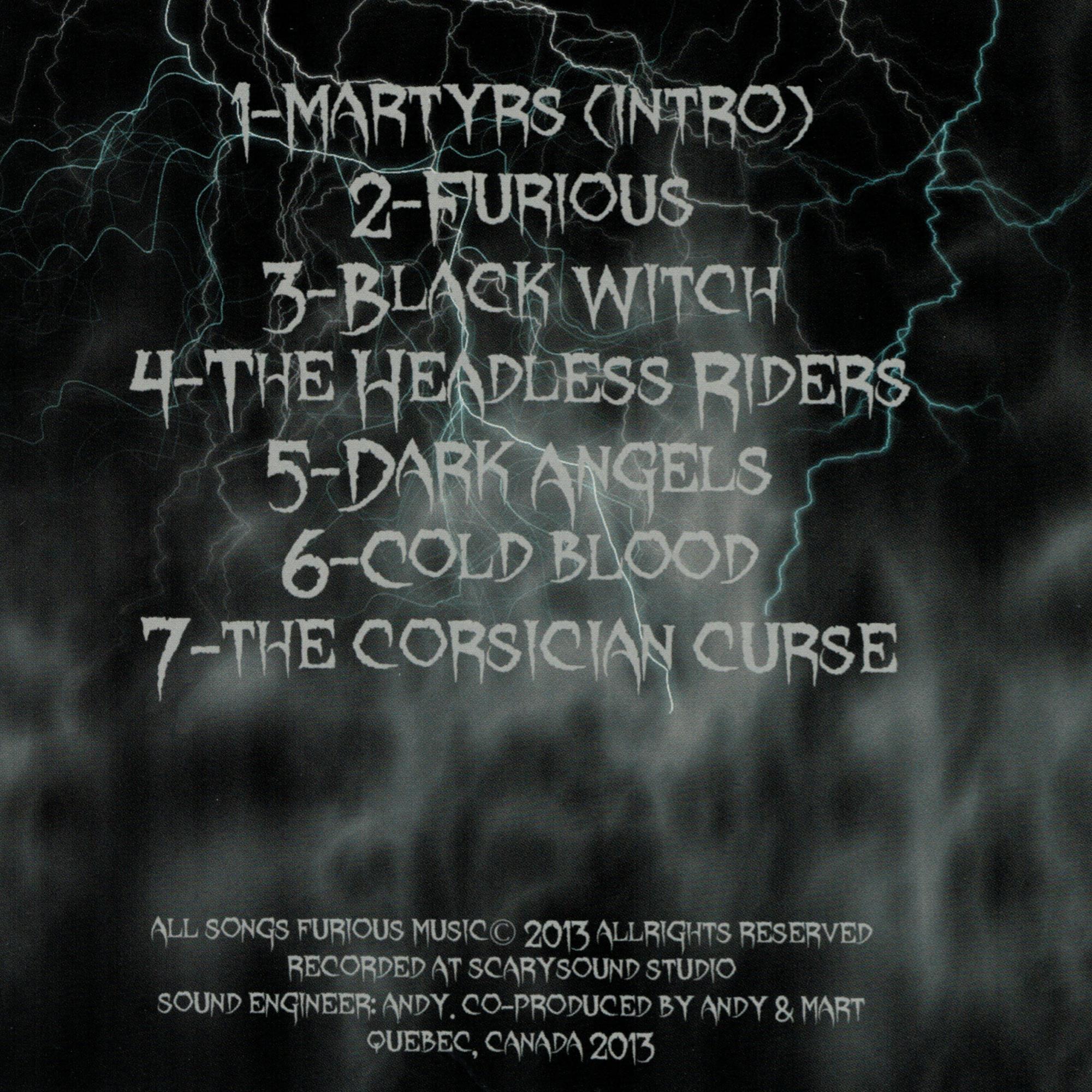 The Corsician Curse CD
