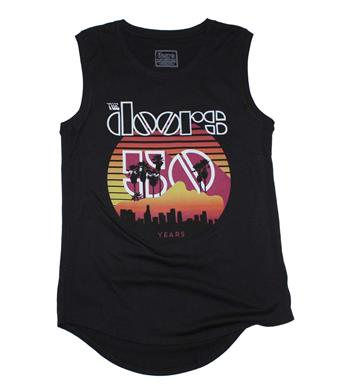 Buy The Doors Sunset 50th Juniors Tank Top by The Doors