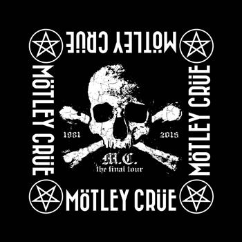 Buy The Final Tour Bandana by Motley Crue