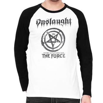 Onslaught The Force 30TH Anniversary Baseball Longsleeve Shirt (Import)
