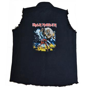 Iron Maiden The Number Of The Beast Vest