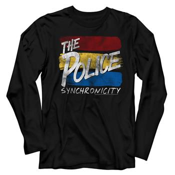 Buy The Police Sync Inverted Long Sleeve T-Shirt by The Police