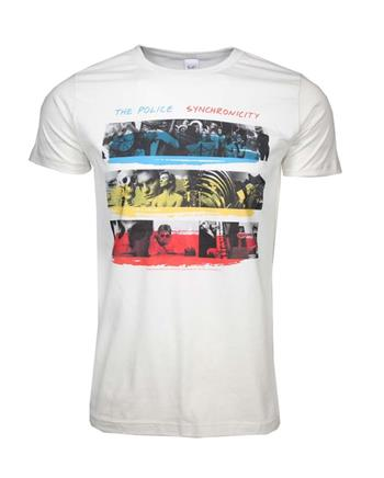 The Police The Police Synchronicity Fitted Jersey T-Shirt