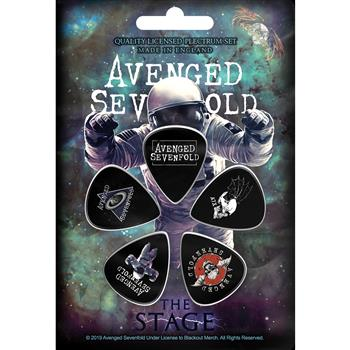 Avenged Sevenfold The Stage Guitar Pick Set
