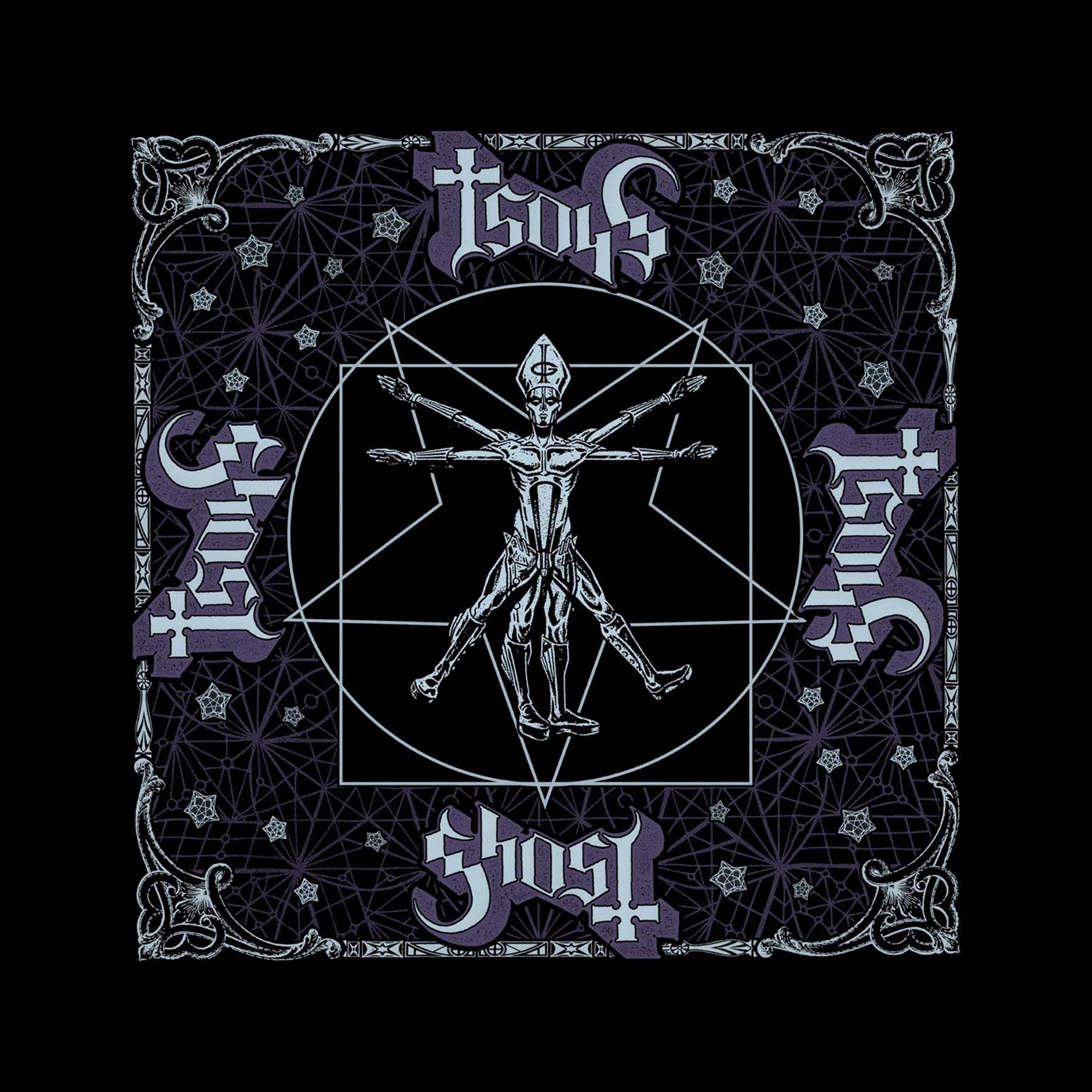 The Vitruvian Ghost Bandana