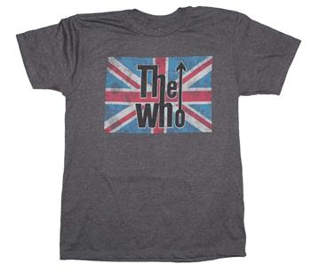 Buy The Who Union Jack Logo T-Shirt by The Who