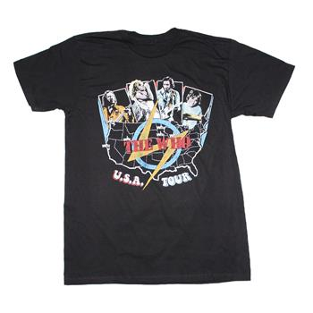 Buy The Who USA Tour T-Shirt by The Who
