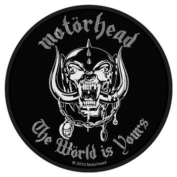 Buy The World Is Yours Patch by Motorhead