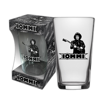 Buy Logo Silhouette Beer Glass by Tony Iommi
