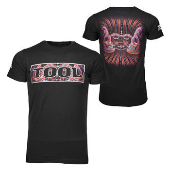Buy Tool Three Red Faces T-Shirt by Tool