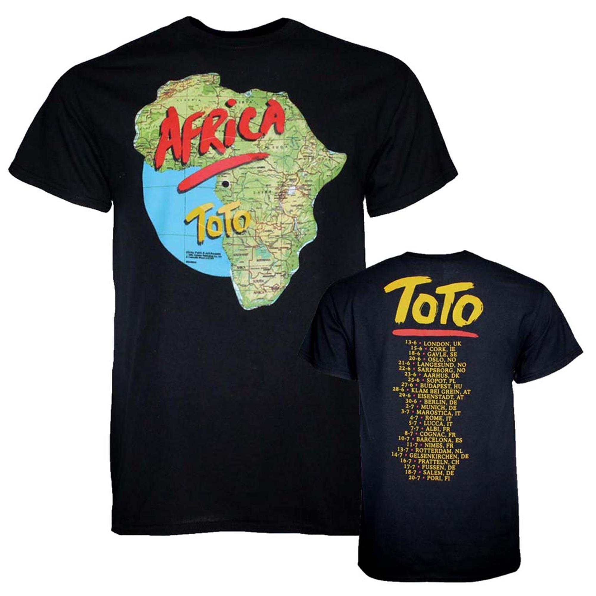 Toto Africa Tour T-Shirt