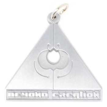 Buy Triangle Necklace ( Comes With A Chain) by BEYOND CREATION