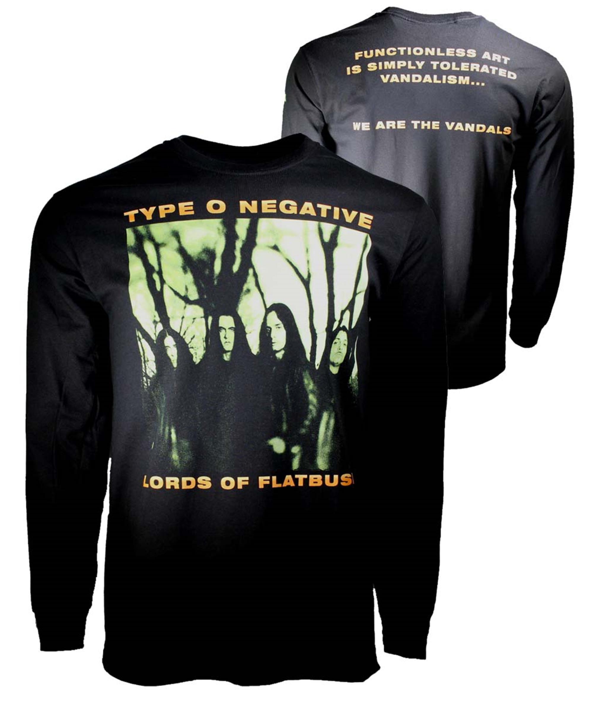 Type O Negative October Rust Long Sleeve T-Shirt