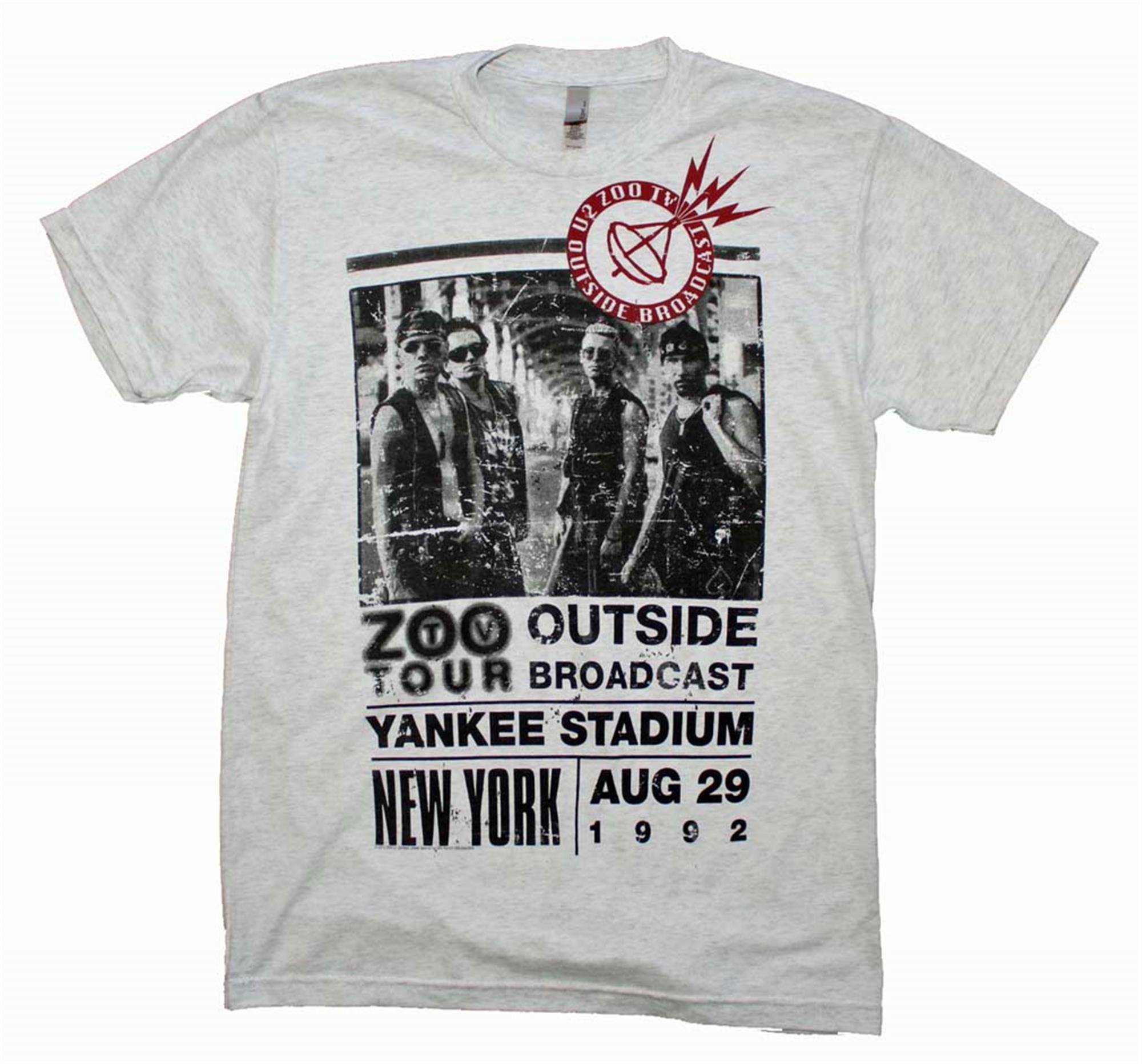 U2 Outside Zoo Tour Slim Fit T-Shirt