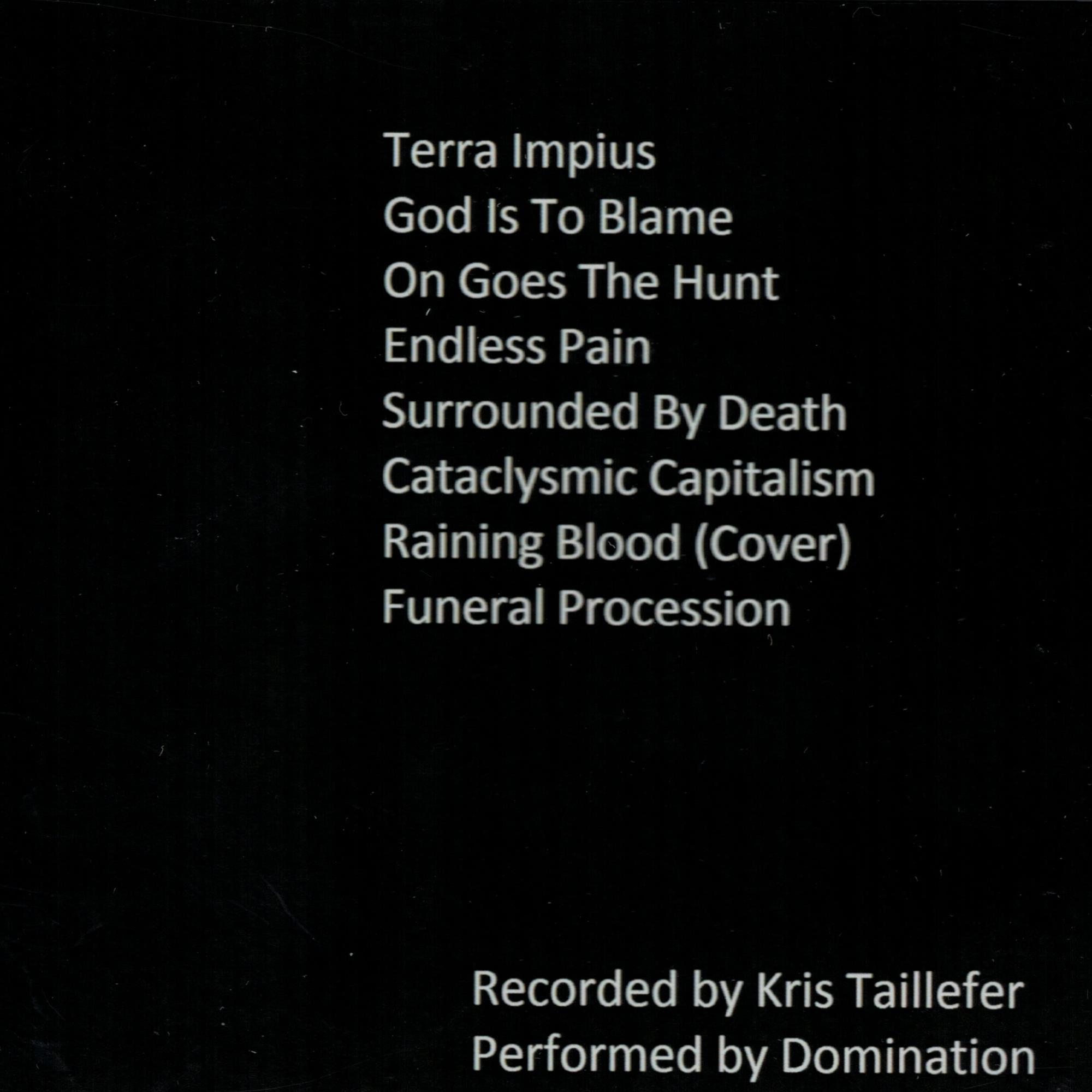 Unholy Lands CD