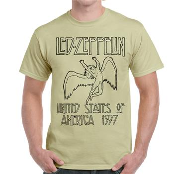 Led Zeppelin United States of America 1977 T-shirt