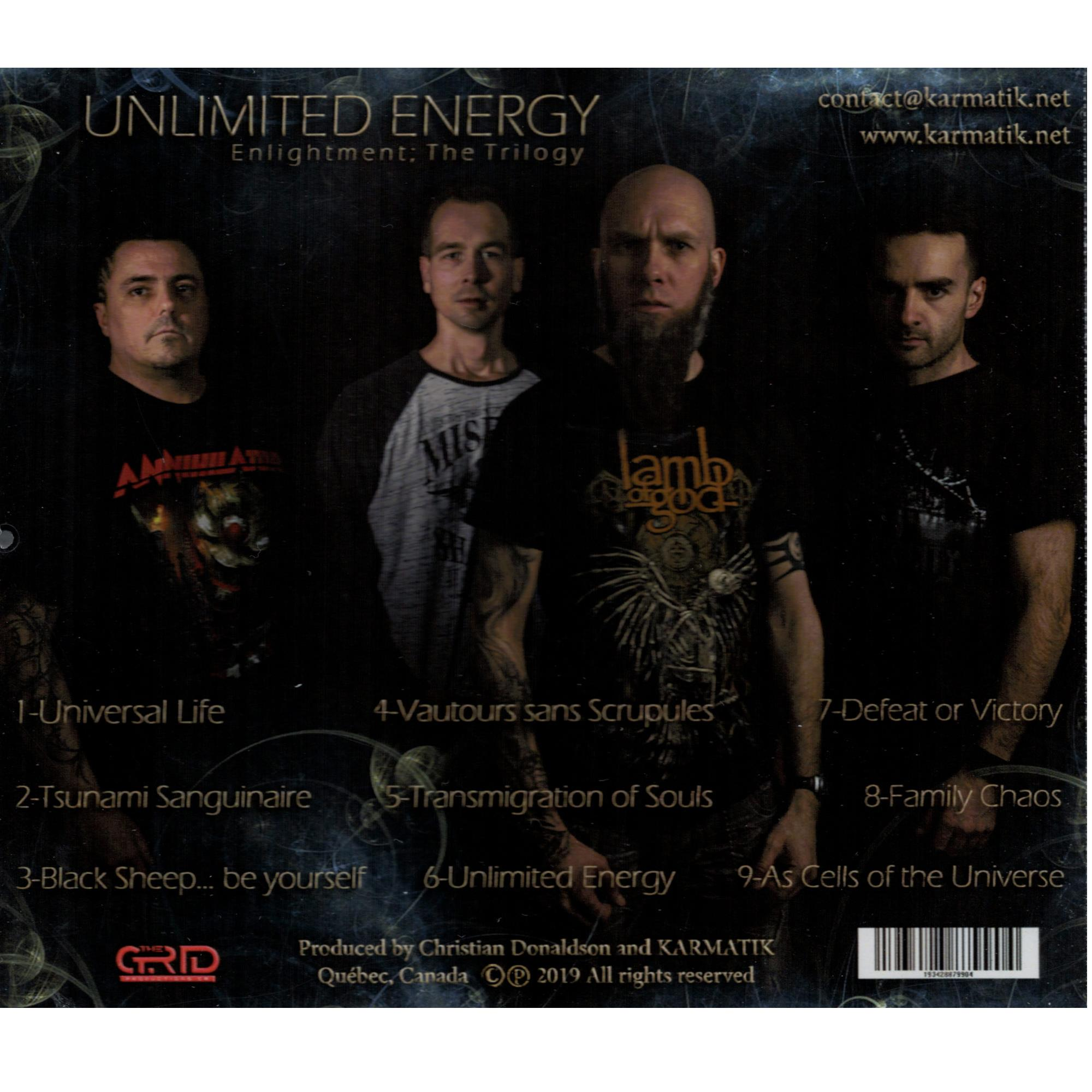 Unlimited Energy CD