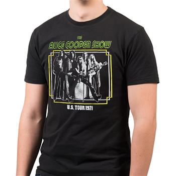 Buy US Tour 1971 (Import) T-Shirt by Alice Cooper
