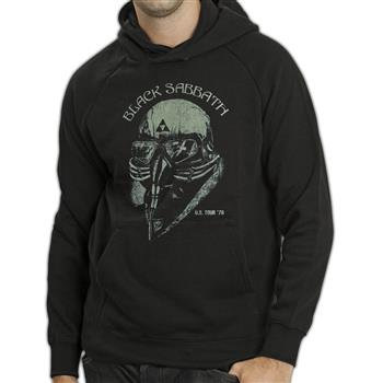 Black Sabbath US Tour 1978 (Import) Pullover Hoodie