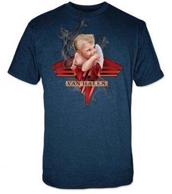 Buy Van Halen Smoking T-Shirt by Van Halen