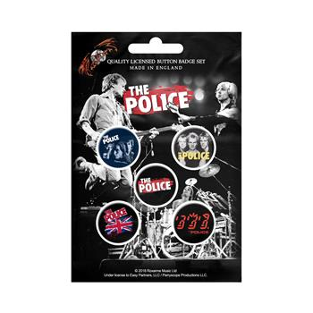 Buy Various Logo (Button Pin Set) by The Police