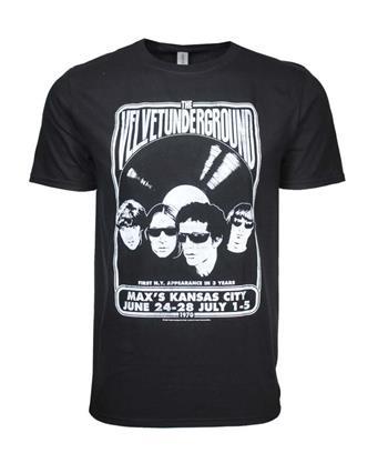 Velvet Underground Velvet Underground Velvet Vinyl T-Shirt