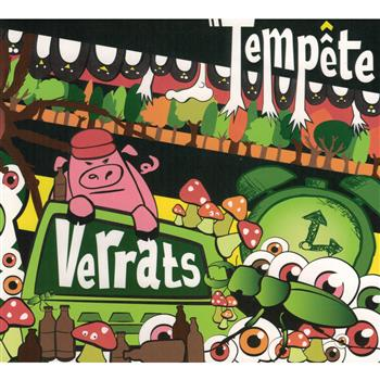 Buy Verrats CD by Tempete