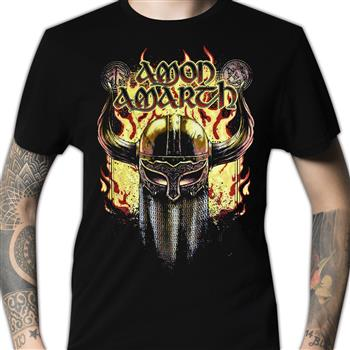 Amon Amarth Viking Helmet T-shirt