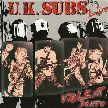 Uk Subs Violent State CD