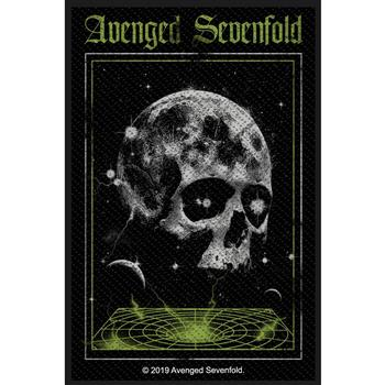 Avenged Sevenfold Vortex Skull Patch