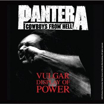Buy Vulgar Display Of power Coaster by Pantera