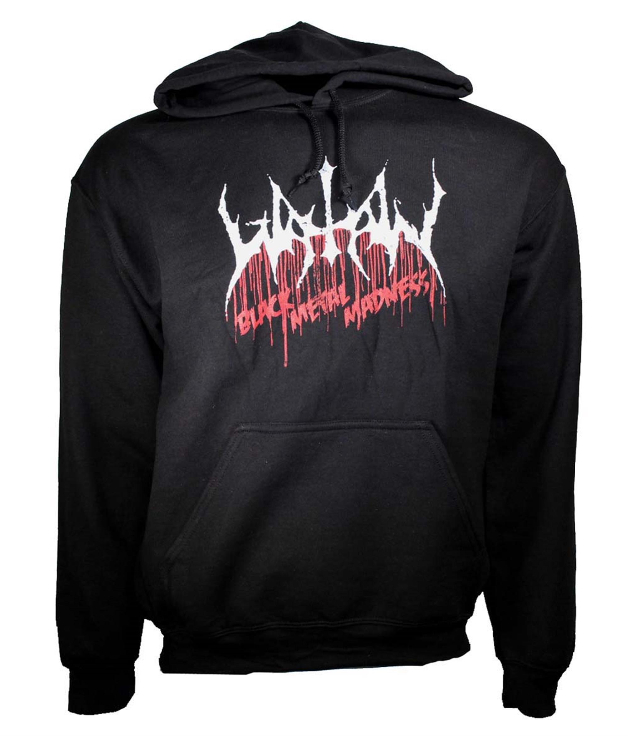 Watain Black Metal Madness Pullover Hoodie Sweatshirt