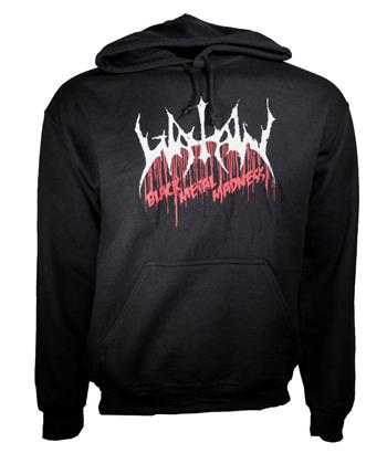 Watain Watain Black Metal Madness Pullover Hoodie Sweatshirt