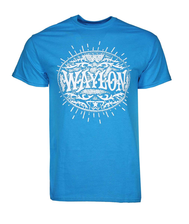 Waylon Jennings Buckle T-Shirt
