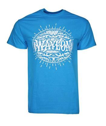 Buy Waylon Jennings Buckle T-Shirt by Waylon Jennings